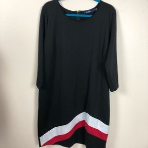 Eloquii by the limited black shift dress size 20W